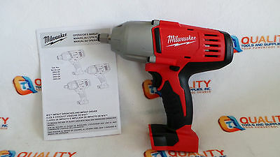 """Milwaukee 2663-20 18V 1/2"""" High Torque Impact Wrench w/ Friction Ring Bare Tool"""