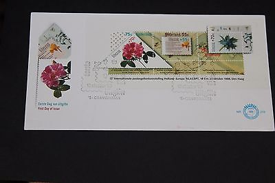 Netherlands 1988 Filacept Stamp Exhibition  First Day Cover Ex Cond