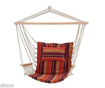 Oztrail Single Anywhere Hammock Chair Relax Camp Seat Seating Deluxe