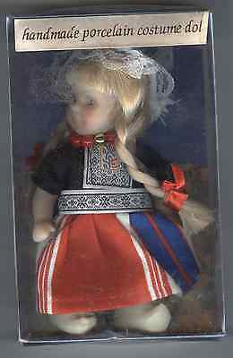 Small Handmade Porcelain Doll From Holland