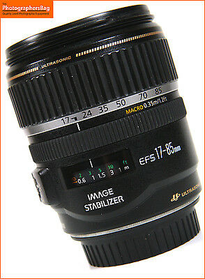 Canon EF-S IS 17-85mm F4 -5.6  Image Stabilizer Zoom Lens Free UK Post