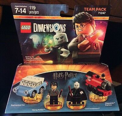Lego Dimensions! New Harry Potter Team Pack #71247!