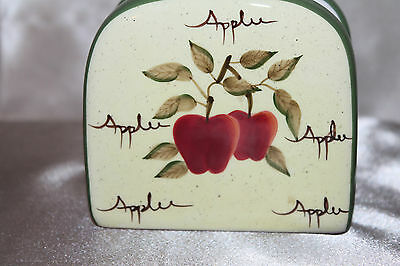 Home Interior Napkin Holder From The Apple Orchard Collection-Euc!!