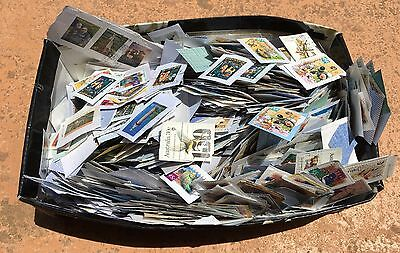 Box of Used Stamps - Australia Decimal Stamps in Bulk (500g) #4