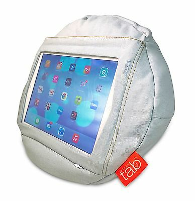 HAPPYtab iPad cushion tablet pillow beanbag stand accessory - Weekend Jeans
