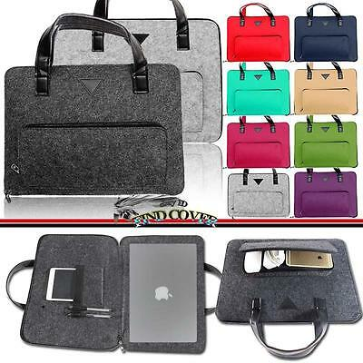 """For Apple MacBook Air/pro/Retina 11"""" 12"""" 13"""" 15"""" Laptop Carrying Sleeve Case Bag"""