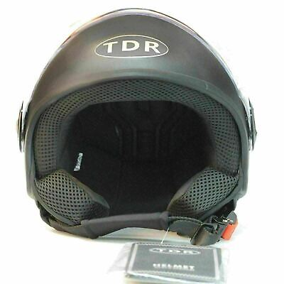 Motorcycle Cruiser Open Face Retro Harley Vintage Style HELMET - AS1698 APPROVE