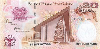 Papua New Guinea 20 Kina  2005 Series BPNG  Uncirculated Banknote MSP29