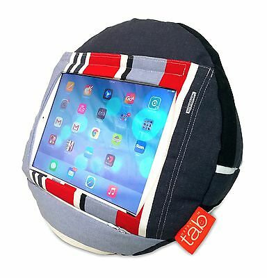 HAPPYtab iPad cushion tablet pillow beanbag stand accessory thing - Nautical