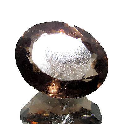 26.55Ct. Natural Good Looking Oval Cut Smoky Quartz  Brazilian Gemstone-CH 4313