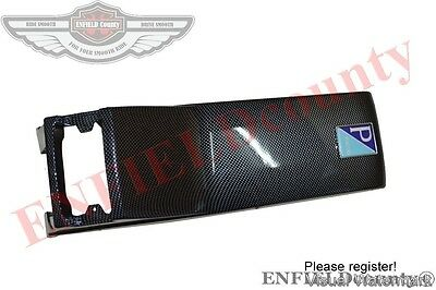 Vespa Carbon Look Horn Cover Nose Px Px 80 - 200 Pe Lusso Scooters @aud