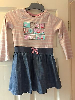 Peppa Pig Dress From Next 4-5 Years. Very Good Condition.