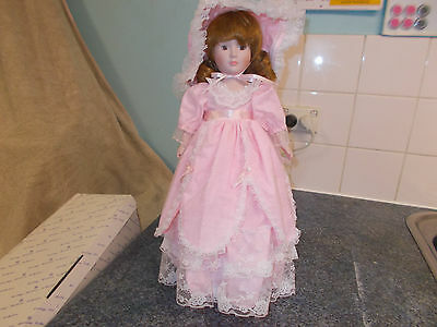 "The Heritage Heirloom Elizabeth 20"" Bisque Porcelain Doll."