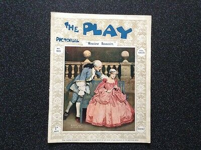 The Play  Pictorial Vintage Theatre Reviews Editions 196, 199, 205, 246