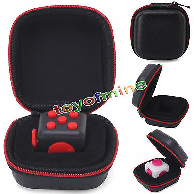 Carry Case For Stress Relief For Fidget Cube Reduce Pressure Family Adults Kids