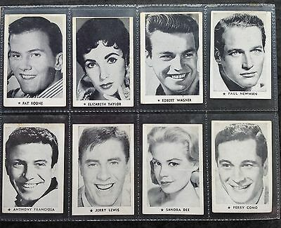 Consolidated Press Chucklers Weekly Film And Recording Stars Trade Cards