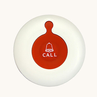 New Waterproof Wireless Calling Pager Call Button Transmitter Calling System Top