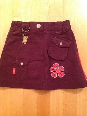 In Extenso Designer Maroon Skirt Age 2