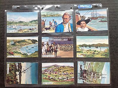 Sanitarium Birth Of A Nation New Zealand Issue 1965 Set/25 Trade Cards