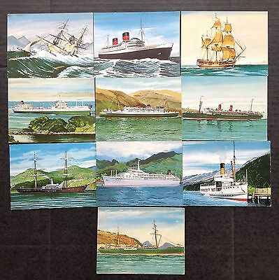 Sanitarium Ships That Have Served New Zealand 1967 Trade Cards