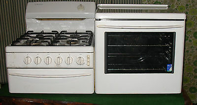 *late Model* Westinghouse Elevated All Gas Stove Grill Fan Forced Oven Gc.