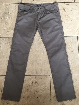Boss Mens Brown Lightweight Jeans Trousers Excellent Condition Size 34R