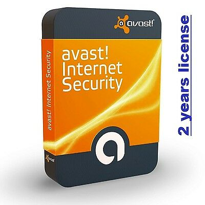 Avast Internet Security - antivirus - 3 PC - 2 Anni - 2 Years - Licenza ESD