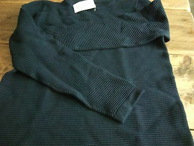 Girls Next ribbed jumper.Navy.Age 13.NEW WITH TAGS