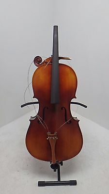 Student 4/4 Size Cello with Case, Antique Fade, by Gear4music - DAMAGED