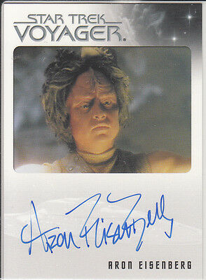 Star Trek Voyager Quotable 2012 Aron Eisenberg autograph