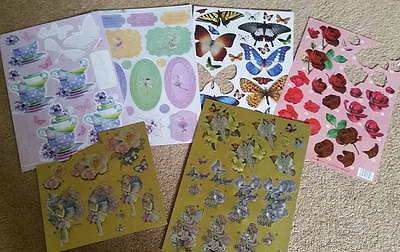 Collection of Card Making Topper Sheets and Sentiments