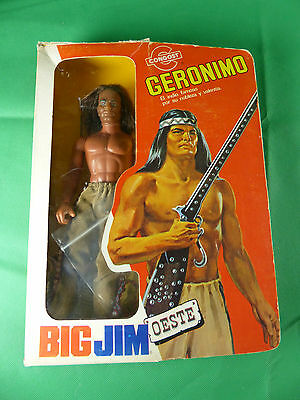 Big Jim Congost Spain 9404 Geronimo / Winnetou Karl May  in originaler  Box
