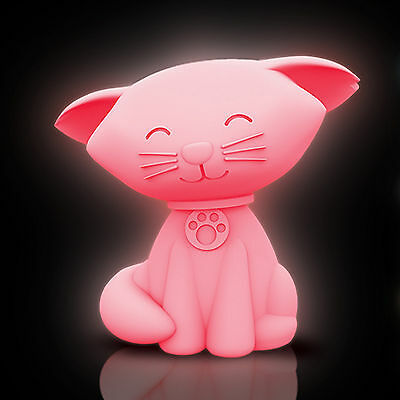 Cat Mood Light - Colour change, LED, night light, battery operated