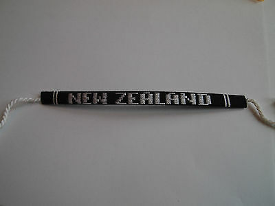 NEW ZEALAND    handwoven wristband