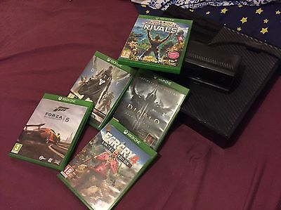 Xbox One With Kinect And 1 Controller. 5 Games BUNDLE *Kinect Sports Rivals*