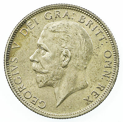 Great Britain, George V Florin, Silver, High Grade, 1935