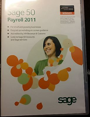 SAGE 50 Payroll - 1 User, Full, 50 Employees NEW With Receipt, License & Serial