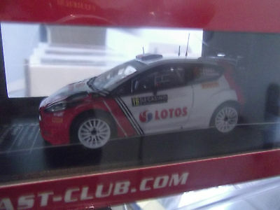 Ford Fiesta WRC Kubica n°16 Monte Carlo 2016 Kubica ixo  die cast collection