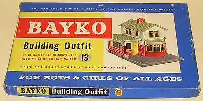Bayko Meccano Building Set 13 Great Condition Factory Sealed MINT Boxed