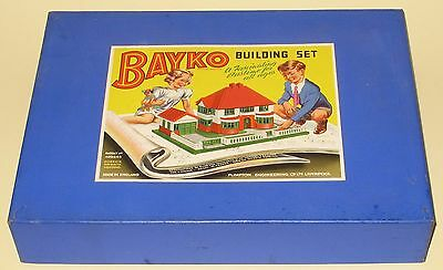 Bayko Plimpton #2 Building Set 1950's Superb Condition Factory Sealed MINT Boxed