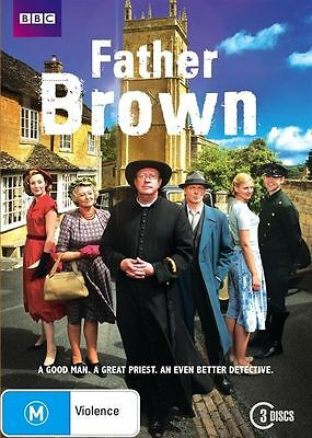 Father Brown (DVD, 2013, 3-Disc Set), NEW SEALED REGION 4