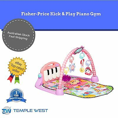 NEW Fisher Price Baby Kick & Play Piano Gym Musical Toy Activity Playmat