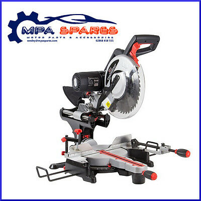 "Sip 01504 12"" Double Bevel Compound Sliding Mitre Saw With Laser 230V"