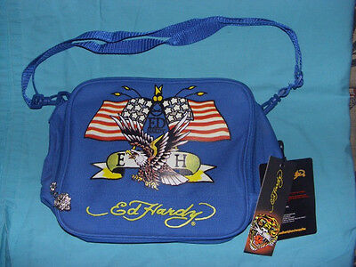 Ed Hardy lunch box tote