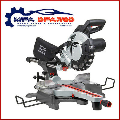 "Sip 01511 10"" Sliding Compound Sliding Mitre Saw With Laser 230V"