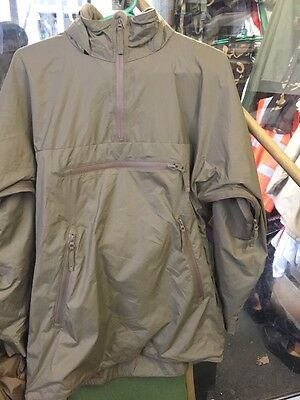 British Army Smock Lightweight Thermal Light Olive Size Available Small And Larg