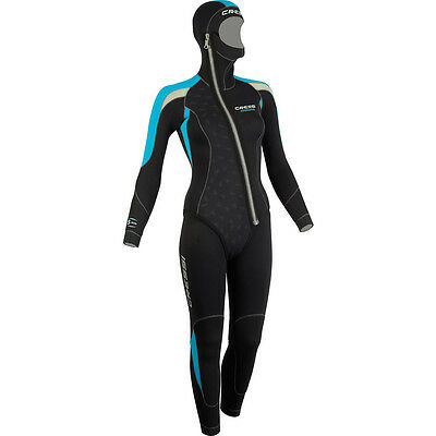 UK Cressi Medas Woman dive suit size 1 extra small