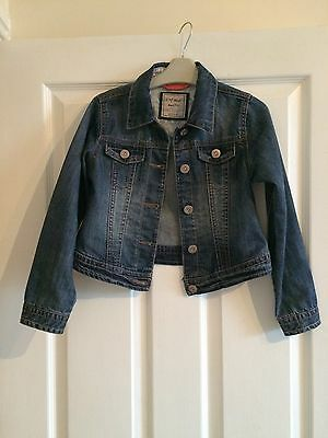 Girls Next Denim Jacket 7-8 Years