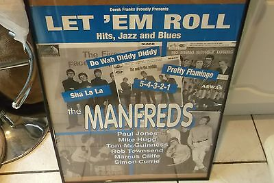 The Manfreds Poster