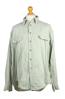 "Levis Vintage Long Sleeve Shirt Grey Chest 51"" - DJ073"